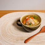 スープ皿のポトフ