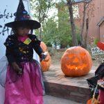 ハロウィン仮装の子供たち