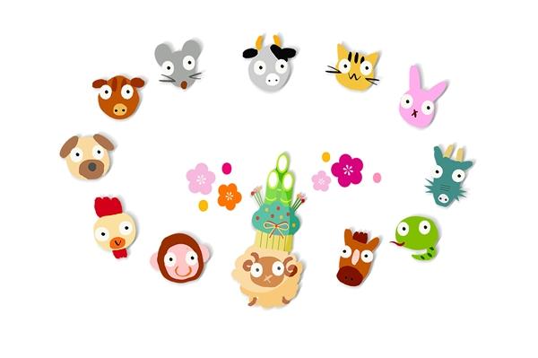 十二支の動物たち