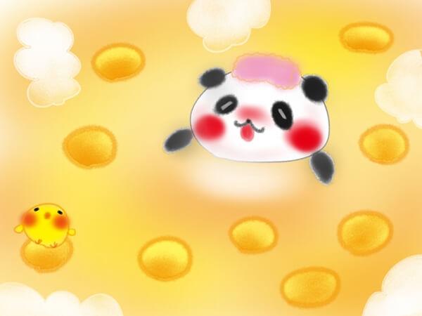 柚子湯につかる動物