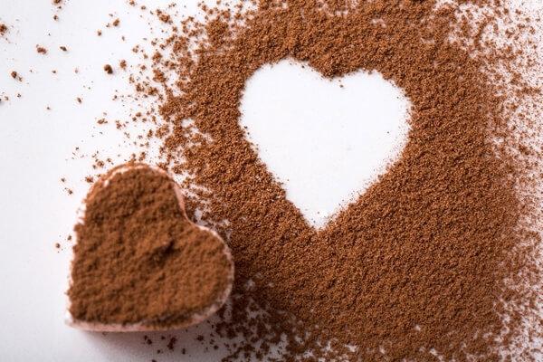 ハート型のチョコレート