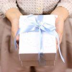 プレゼントの包箱