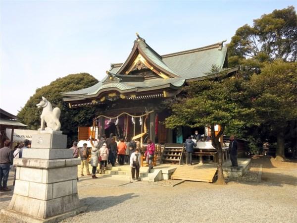 初午祭の稲荷神社