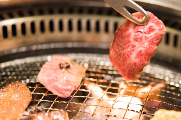 炭火の焼肉