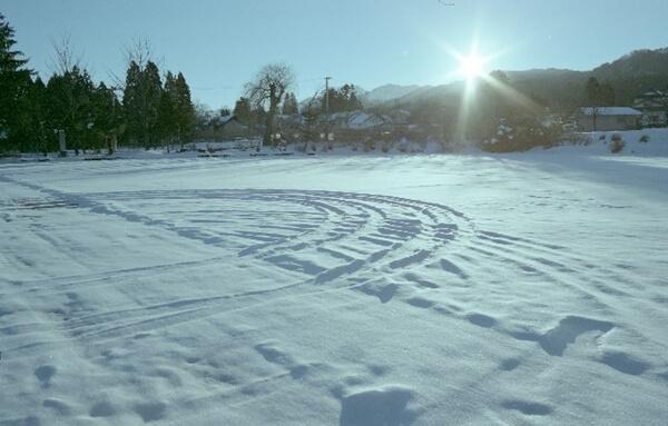 雪まつりの会場