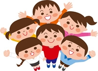 子供のグループ