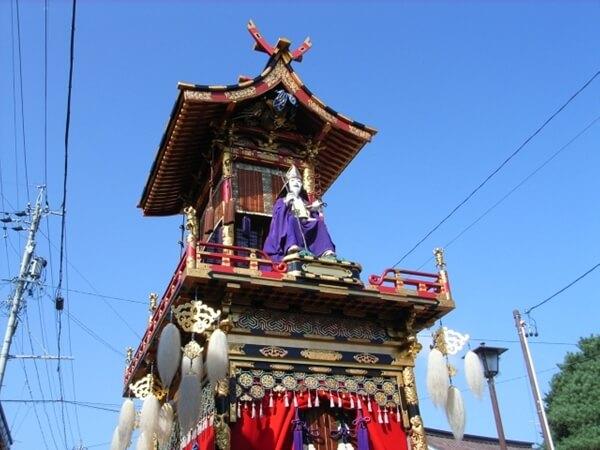 高山祭りの屋台