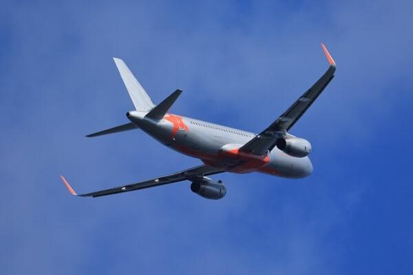 格安航空会社の飛行機