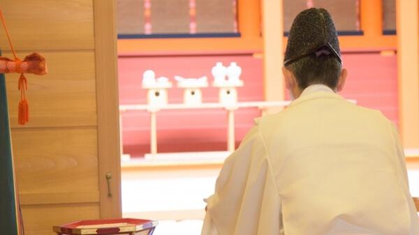 神社でのお祓い