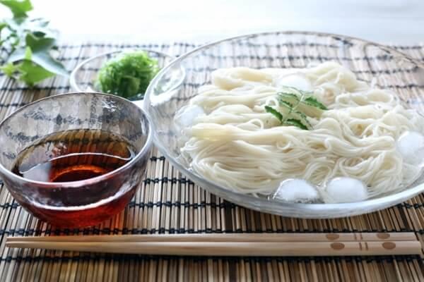 素麺とツユ