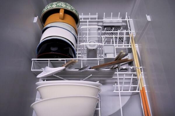 ビルトイン食洗機の中部