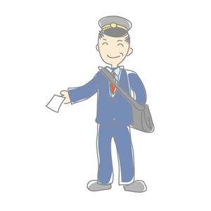郵便局の配達員